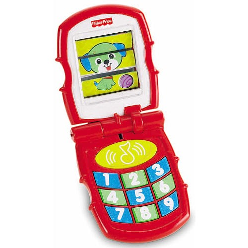 Fisher-Price Brilliant Basics Flip Toy Phone