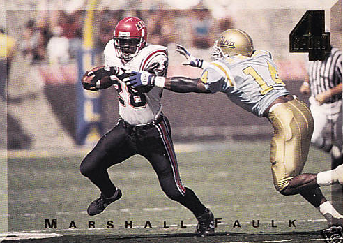 1994 Marshall Faulk 4-Sport Rookie Card