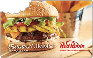 Red Robin e-Gift Card - $50