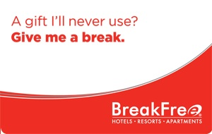 BreakFree eGift Card - $50 AUD