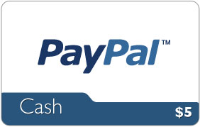 PayPal - $5 USD