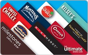 The Ultimate Dining Card $10 CAD Gift Card