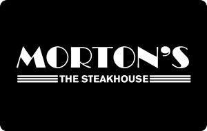 Morton's – The Steakhouse $25 Gift Card