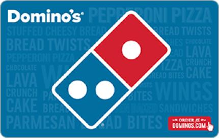 Domino's Pizza $50 Gift Card