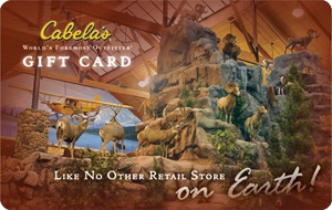 Cabela's eGift Card - $15