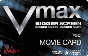 Event Cinemas Vmax eGift Card - $50 AUD