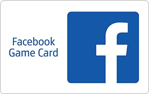 Facebook Game Card  $10 Gift Card