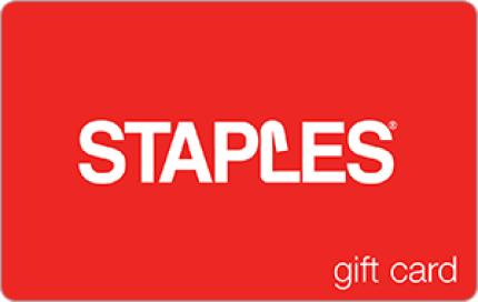 Staples eGift Card - $10
