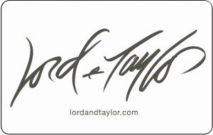 Lord & Taylor  $10 Gift Card
