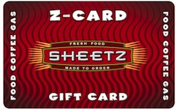 Sheetz $100 Gift Card