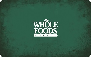 Whole Foods Market eGift Card - $15