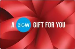 Big W eGift Card - $25 AUD