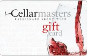 Cellarmasters eGift Card - $25 AUD