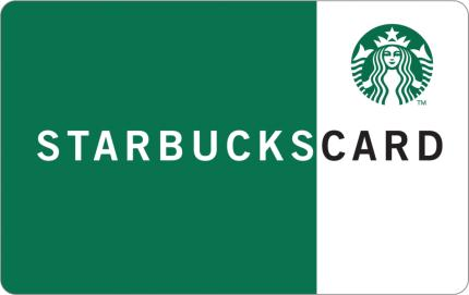 Starbucks $5 CAD Gift Card
