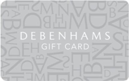 Debenhams eGift Card - 25 GBP