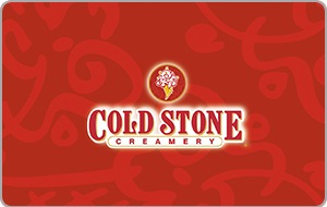 Cold Stone Creamery $50 Gift Card