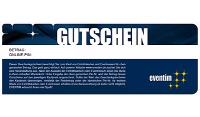 Eventim Gift Voucher - 5 EUR