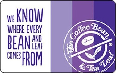 Coffee Bean $50 Gift Card