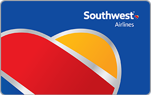 Southwest Airlines $25 Gift Card