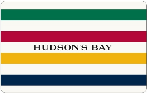 Hudson's Bay $25 CAD eGift Card