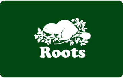Roots $25 CAD Gift Card