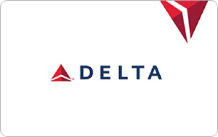 Delta Airlines $100 Gift Card