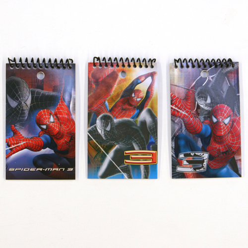 memo spiderman Amazoncom : the amazing spiderman 3x5 personalized 2pk memo pad in poly bag : memo paper pads : office products.