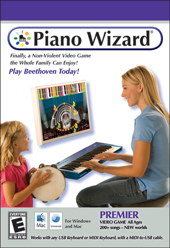 Piano Wizard Premier Software