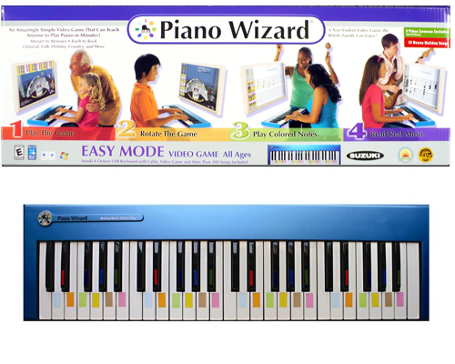 Piano Wizard Premier Plus w/Suzuki 49e Keystation