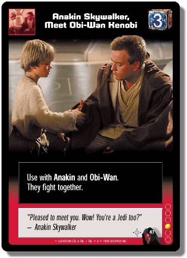 Young Jedi Trading Card Game