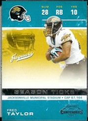 Fred Taylor Trading Card