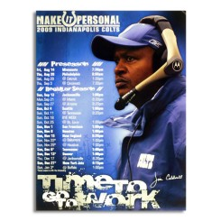 "Colts - 2009 ""Make it Personal"" Poster"