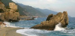 """Monterosso Beach"" Desktop Wallpaper"