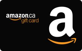 $25 CAD Amazon.ca eGift Certificate