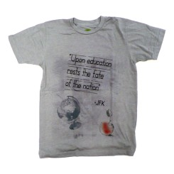 """Upon Education Rests the Fate of the Nation"" Tee"