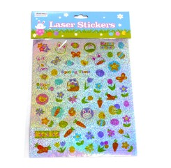 Shiny Easter Sticker Sheet