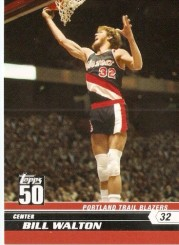Bill Walton Trading Card