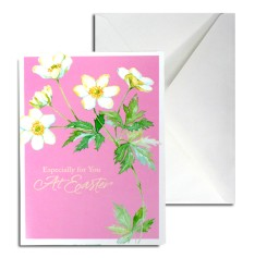 Easter Greeting Card (pink)