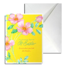 Easter Greeting Card (yellow)