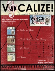 VOCALIZE! - transcribed from Voice Lessons To Go
