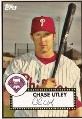 Chase Utley Trading Card