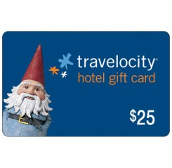 Travelocity Hotel Promotional Card - $25