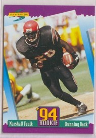 1994 Marshall Faulk Score Rookie Card