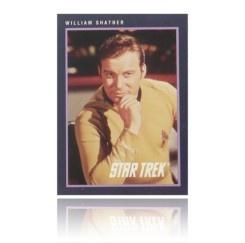 Star Trek - 25th Anniversary Card-William Shatner