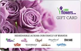 1-800-Flowers eGift Card - $25