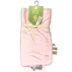 Pooh Newborn Security Blanket (Pink)