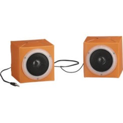 Fold 'n' Play Recycled Speakers