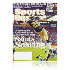 Saints - Sports Illustrated featuring Reggie Bush