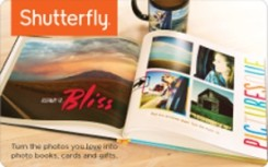 Shutterfly eGift Card - $25