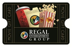 Regal Entertainment Group $50 Gift Card